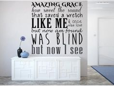 The Lord Is My Shepherd Psalm Vinyl Wall Decal KJV Decal Custom - Custom vinyl lettering wall decals