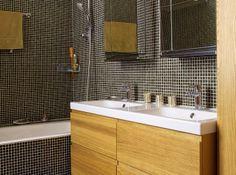 salle de bain mosaique ikea -