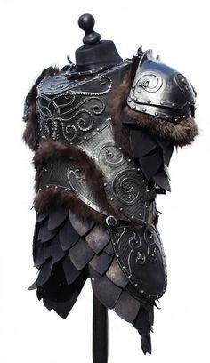 Kraken armour by malcairion.devian... on @deviantART. #Armor
