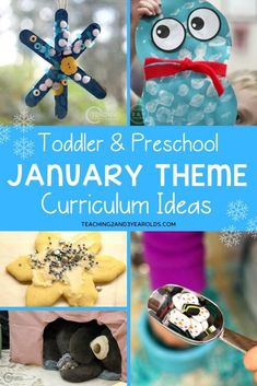 Collection of Activities for January Themes