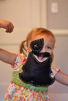 This will make pirate nights a bit more fun than the cut out paper patches, headbands, and wooden spoons we use.