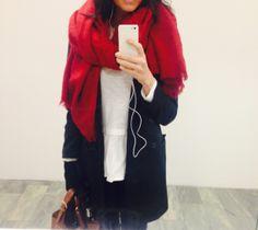 red scarf Zara