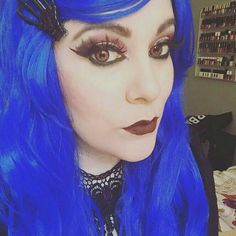goth makeup by morgana graves (doll house salon) https://m.youtube.com/channel/UCDbm-bPLy1eToI9uyXP8BYw