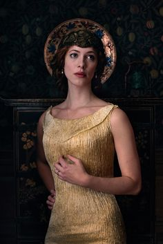 Rebecca Hall, Sylvia Tietjens - Parade's End (TV Series, 2012) - Series Costume Design by Sheena Napier #fordmadoxford