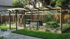 Home Garden - traditional - landscape - new york - by Teich Garden Systems LLC Backyard Plants, Backyard Garden Design, Backyard Landscaping, Landscaping Ideas, Large Backyard, Patio Ideas, Backyard Ideas, Home Vegetable Garden Design, Backyard Vegetable Gardens