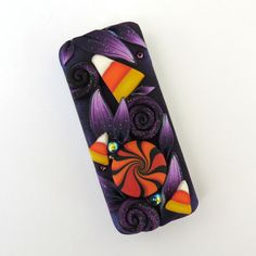 Trick or Treat Halloween Slide Top Tin, Sewing Needle Case , Polymer Clay…