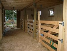 Barn Plans if I ever build one :-)  I like the open feel of board slats