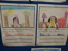 Chalk Talk: A Kindergarten Blog: The Sun and Stars - day and night