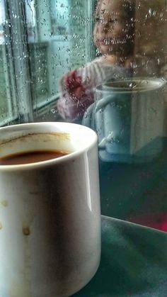 Coffee rain baby
