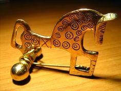 SPAIN / IBERIA (Pre-Roman Spain) - El Artesano Numantino: fibulas de caballo