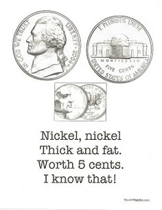 Classroom Freebies: Coin Poster-Poems