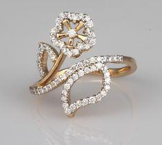 Diamond Ring Jewelry Rings, Jewelry Box, Women Jewelry, Jewellery, Art Nouveau Ring, Right Hand Rings, Lab Diamonds, Best Mom, Cute Designs
