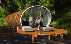 Prefab vacation homes. The Orb