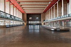Flughafen Tempelhof , Main Hall, closed 2008