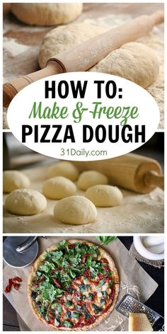 How To Make Easy Pizza At Home? Just see our video website and start making awesome pizza at home like the restaurant. it has pizza making the video tutorial. Bbq Chicken Pizza, Pain Pizza, Pizza Party, I Love Pizza, Good Pizza, Freeze Pizza Dough, How To Make Pizza Dough Recipe, Gourmet Pizza Dough Recipe, Recipes