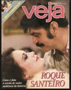 revista VEJA - 1985 - na capa LIMA DUARTE e REGINA DUARTE - sinhozinho malta  e a irreverente viúva PORCINA - personagens do grande sucesso da Rede Globo - a novela ROQUE SANTEIRO