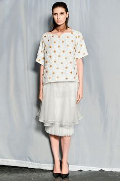 Maki Oh Spring 2014 Ready-to-Wear Collection Slideshow on Style.com skirt