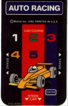 Auto Racing Overlay
