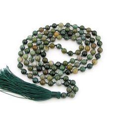 6mm Indian Agate Hand Knotted Mala Tibet Buddhist Prayer Beads 108 Beaded Mala  ZZ295