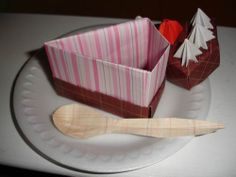 Origami Cake Box Flickr Photo Sharing Cakepins