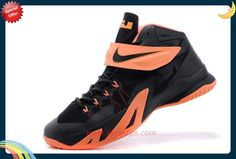 lowest price a583e bcd4f Nike Zoom Soldier 8 653642-001 Black Light Orange For Wholesale N83EVY Nike  Zoom