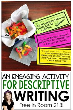 Teaching ideas 415668240608820549 - Middle and high school English teachers: use this engaging writing activity to teach students the power of brainstorming while they work on description and understanding point of view. Middle School Quotes, Middle School Activities, Middle School Writing, Middle School English, Middle School Classroom, High School Reading, Science Classroom, Bulletin Board Ideas Middle School, Middle School Stem