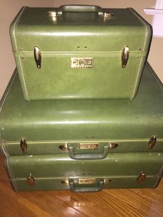 VINTAGE SAMSONITE ALLIGATOR / CROCODILE CARRY ON LUGGAGE BAKELITE ...