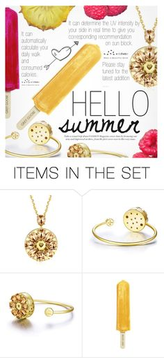 """Hello Summer"" by totwoo ❤ liked on Polyvore featuring art"