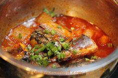 Braised Fish with Korean Style Recipe (Cá Kho Kiểu Hàn)