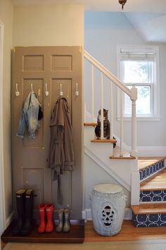 9 Creative Ways to Organize Your Coats and Hats by the Door (When You Don't Have a Coat Closet)