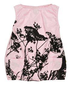 Pink Grasses Noemi Organic Dress