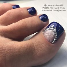 15 trendy wedding nails toes pedicures bling The post 15 trendy wedding nails toes pedicures bling & peinados y belleza appeared first on Nails . Pedicure Designs, Pedicure Nail Art, Toe Nail Art, Nail Art Designs, Pedicure Ideas, Toe Nail Designs For Fall, Pretty Toe Nails, Cute Toe Nails, Hair And Nails