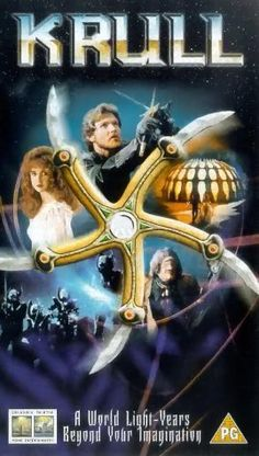 Krull -- Cheesy & lame with bad special effects, but I can't help lovin' it anyways.