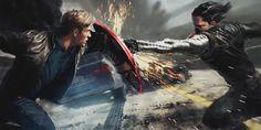 "Concept art de ""Captain America: The Winter Soldier"""