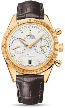 Omega Speedmaster 57 Omega Co-Axial Chronograph Yellow Gold