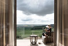 far reaching views over the Champagne vineyards and Marne river valley Chicago Mercantile Exchange, Need Wine, French Classic, Custom Made Furniture, Luxury Spa, Concierge, Hotel Spa, Champagne, Wine Tasting