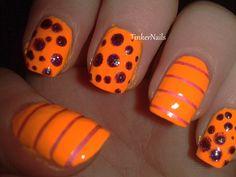 Stripes, spots, glitter and neon
