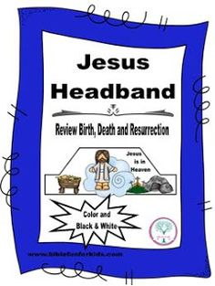 Jesus Review Headbands in color and black & white