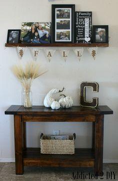 Wood Grain Fall Banner - Addicted 2 DIY