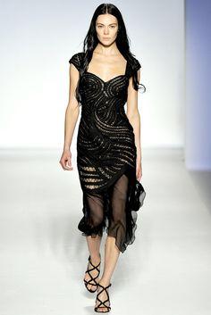 Alberta Ferretti Spring 2012 Ready-to-Wear Fashion Show - Kinga Rajzak