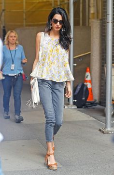 Amal Clooney Is the Boho Queen of New York City