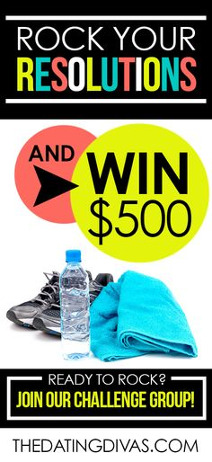 A little extra motivation to get healthier and happier!  Rock your New Year's Resolutions and WIN $500!