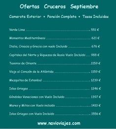 #Cruceros desde 551 € precio final!!!!! http://www.navioviajes.com/reserva_crucero.php