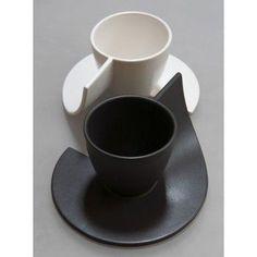 Tasse à café originale K. Tea Bowls, Plates And Bowls, Cup Design, Glass Design, Pottery Mugs, Ceramic Pottery, Ceramic Cups, Ceramic Art, Keramik Design