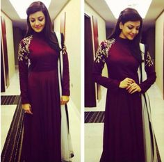 Kajal Aggarwal Selfie and Unseen Photos Indian Bridal Lehenga, Indian Gowns, Red Lehenga, Anarkali Dress, Indian Attire, Lehenga Choli, Indian Outfits, Indian Wear, Anarkali Suits