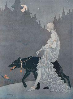 Marjorie Miller, Queen of the Night, Tatler, 1931