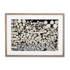 Jody Dole Photography, Woodpile, Bushnell Farm ($1,060) ❤ liked on Polyvore featuring home, home decor, wall art, art, photography wall art, bushnell, abstract wall art, textured wall art and grey home decor