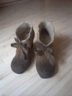 """Обувь ручной работы. Ботильоны """"BELLISSIMA"""". 2bhappy. Интернет-магазин Ярмарка Мастеров. Валенки для улицы, женская обувь, авторские валенки"""