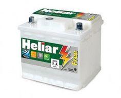 Bateria Heliar 50a   Pensada para garantir a partida do motor e o funcionamento de componentes elétricos e eletrônicos do veículo, a bateri... Electrical Components, Motorbikes, Circuit
