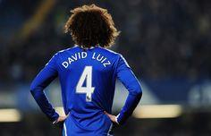 Chelsea FC: David Luiz. This was my iPhone wallpaper 2 months ago <3